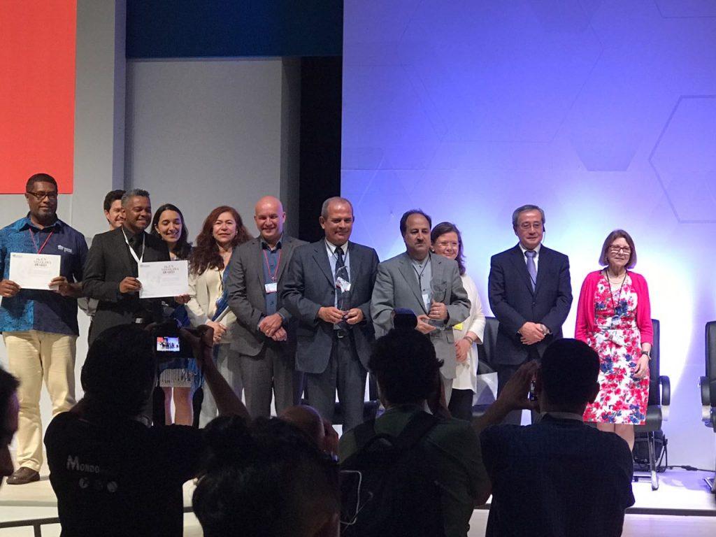 Portugal, Irã, Brasil e Fiji foram homenageados com um prêmio internacional das Nações Unidas e da Fundação Nippon do Japão, pelos esforços para reduzir as mortes causadas por desastres.